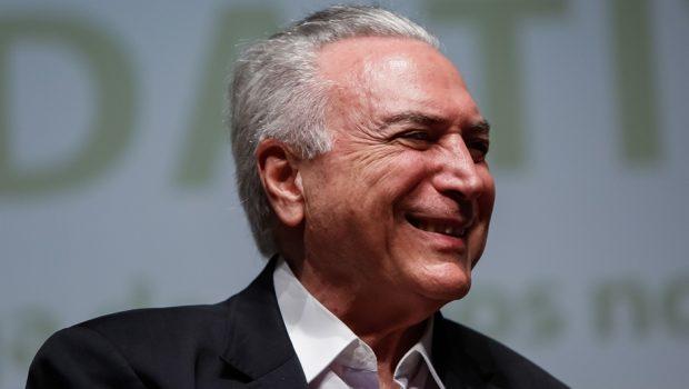 'O Brasil voltou, 20 anos em 2', diz convite de comemoração do governo Temer