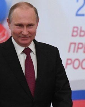 Putin diz que vitória mostra 'confiança e esperança' dos russos