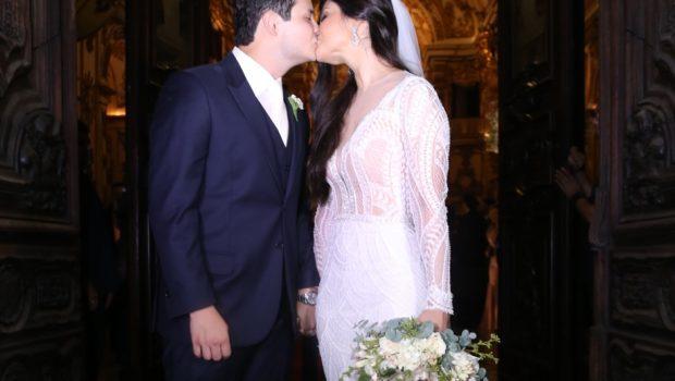 Matheus, da dupla com Kauan, se casa com goiana Paula Aires no Rio de Janeiro