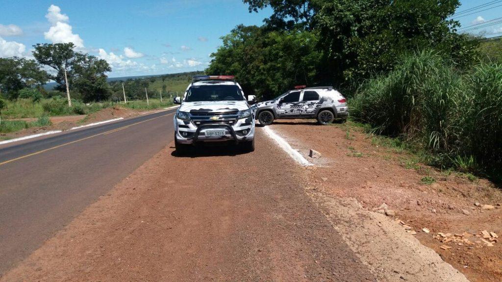 Agente prisional é baleado durante fuga de detento, em Aragarças