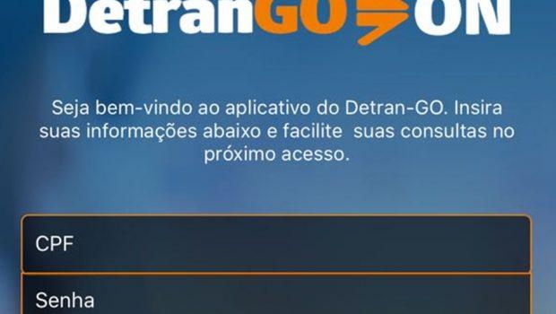 Aplicativo do Detran Goiás permite solicitar serviços pelo celular