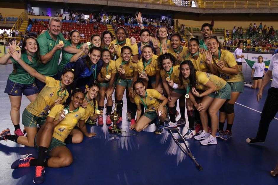 Seleção Brasileira vence a Argentina por 28 a 24 e é Campeã Pan-Americana de Handebol Júnior 2018