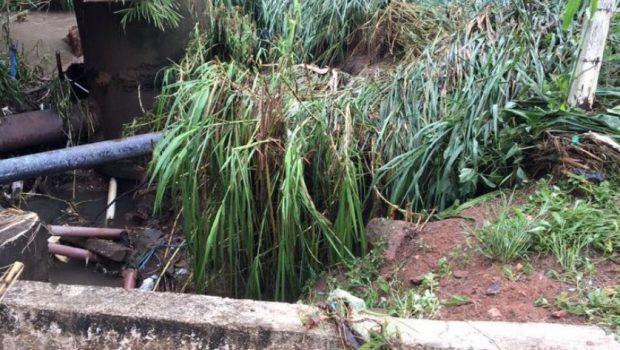 Caldas Novas avalia danos deixados pela chuva do final de semana