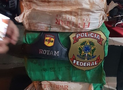 Ação conjunta entre PF e PM apreende 200 quilos de cocaína em Heitoraí; quatro foram mortos