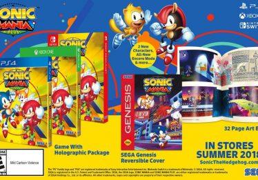 Sega anuncia Sonic Mania Plus e pode lançar mais jogos