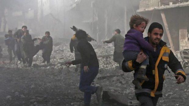 Exército sírio avança em meio a fuga de civis