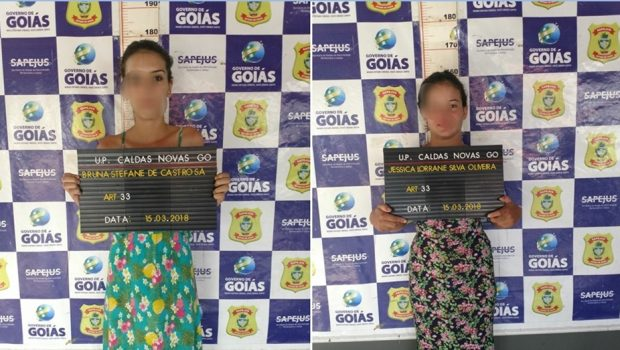 Mulheres são presas ao tentar entrar com droga no presídio de Caldas Novas