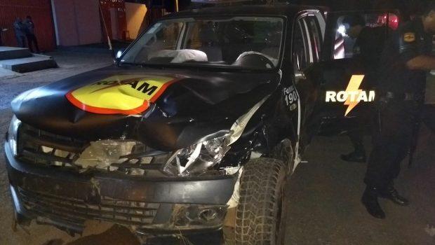 Acidente entre carro e viatura da Rotam deixa sete feridos e um morto em Luziânia
