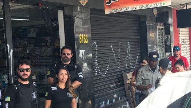 Polícia Civil deflagra operação para combater sonegação de impostos, em Goiânia