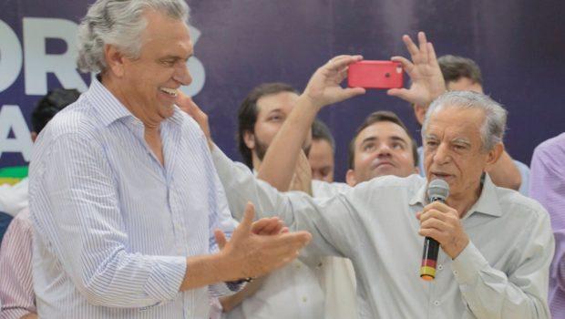 Ao lado de Caiado, Iris defende união da oposição em Goiás