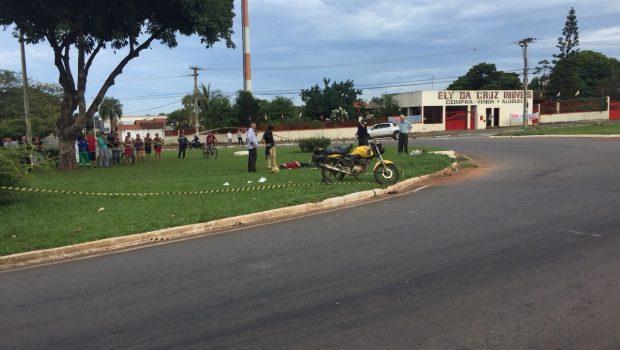 Motociclista morre em acidente no Conjunto Vera Cruz, em Goiânia
