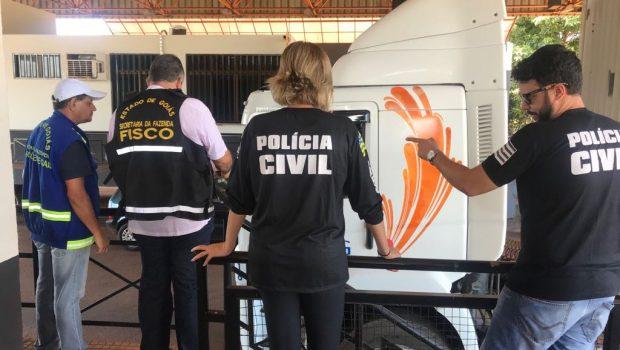 PC lança operação para coibir sonegação de ICMS em grãos, em Goiás
