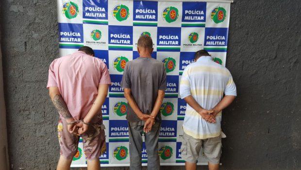 Trio é preso comercializando combustível ilegal no Jardim Novo Mundo, em Goiânia