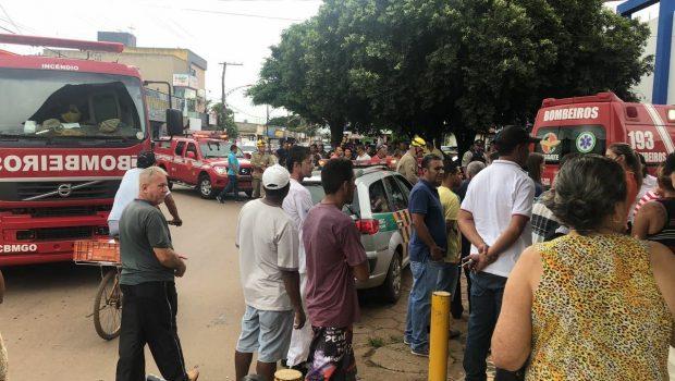 Mulher morre após ser esmagada por elevador em Goianira