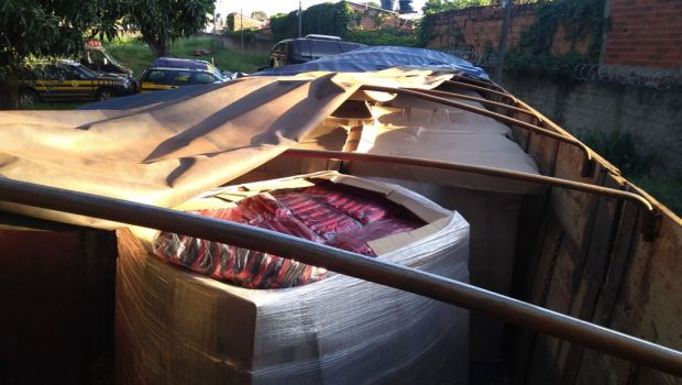 Organização criminosa especializada em revenda de cargas roubadas é desarticulada, em Goiânia