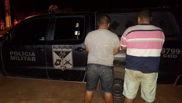 Duas pessoas são presas com carga de agrotóxicos avaliada em R$ 1 mi, em Cabeceiras