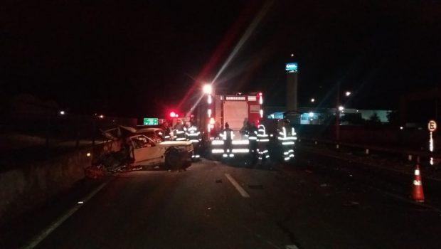 Motorista embrigado causa acidente e mata mulher na BR-153, em Anápolis