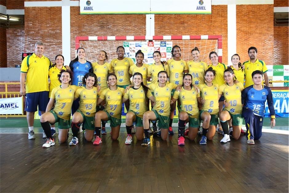 Goiânia sedia Pan-Americano de Handebol Júnior Feminino