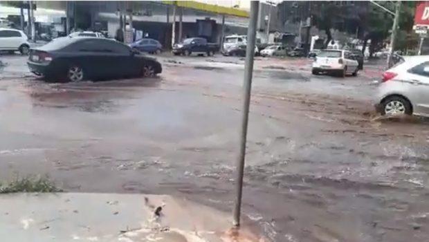 Quedas de energias foram responsáveis por rompimento de adutora da Saneago, em Goiânia
