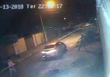 Ladrões que teriam usado táxi são presos, em Senador Canedo