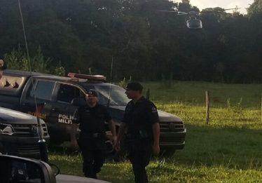 Ladrão confronta polícia e morre após roubo, em Bela Vista