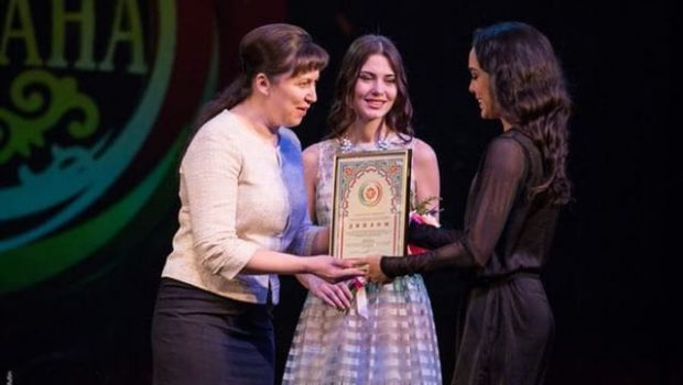 Bailarina goiana é premiada na cidade de Kazan, na Rússia
