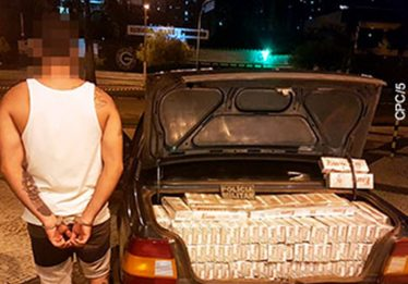 Carro com 1.500 carteiras de cigarro falsificadas é apreendido, em Goiânia