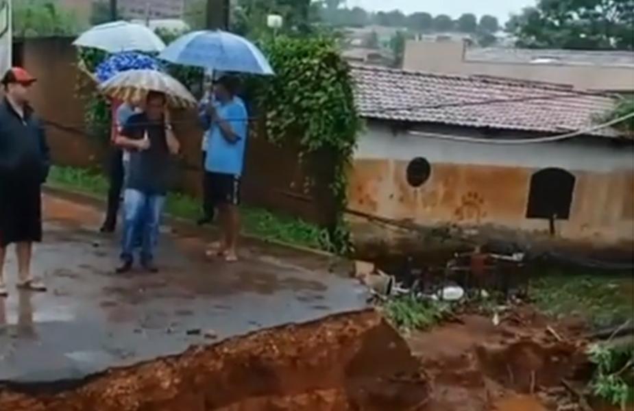 Defesa Civil decreta situação de emergência após chuvas, em Ceres
