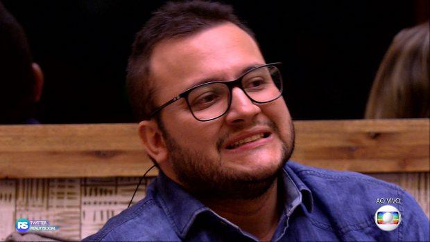 BBB 18: Diego é o oitavo eliminado com 81,06% de rejeição do público