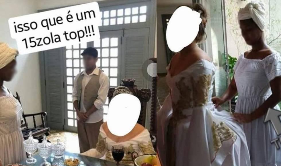 Festa de 15 anos veste jovens negros como escravos, no Pará