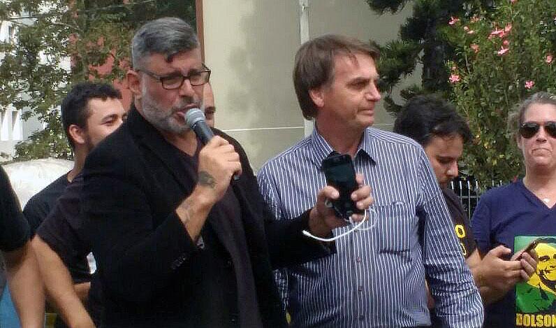 Em vídeo, Bolsonaro cogita Alexandre Frota para ministro da Cultura