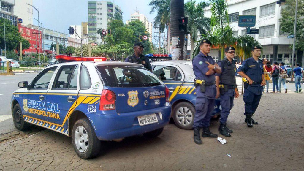 Guardas Civis de Goiânia fazem paralisação nesta quarta-feira (13) em Goiânia
