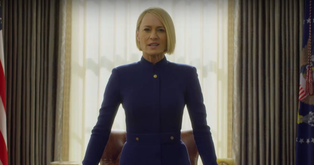 Netflix divulga teaser com Robin Wright da temporada final de 'House Of Cards'