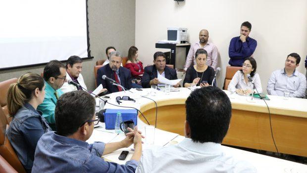 Secretária presta depoimento pela quinta vez na comissão que investiga irregularidades na Saúde