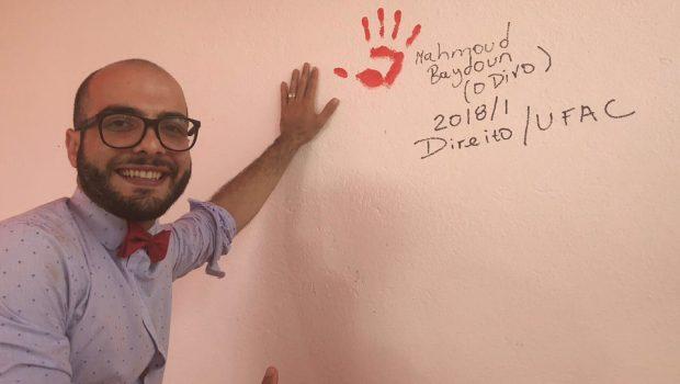 Fora do BBB18, Mahmoud comemora aprovação em faculdade federal do Acre