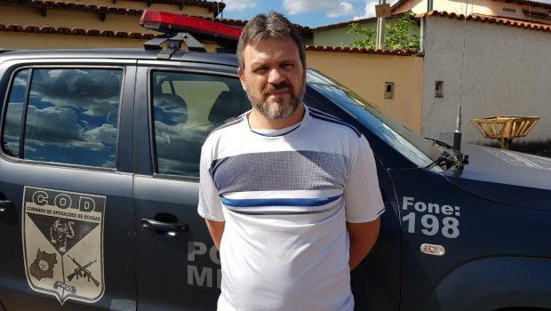 Foragido da Justiça de Minas Gerais é preso em Goiás