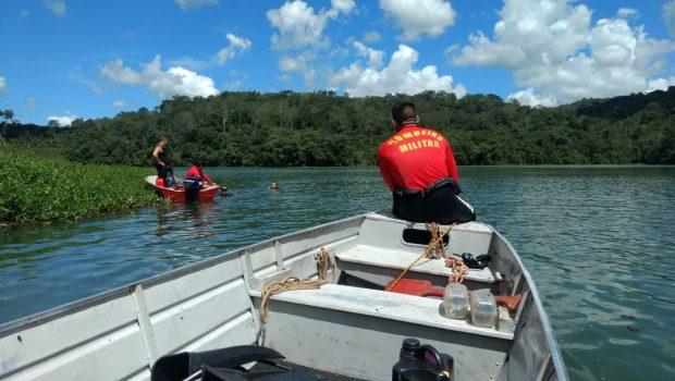 Bombeiros encontram corpo de vítima de afogamento no Lago Corumbá IV, próximo a Alexânia