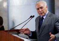 Temer diz que Moreira Franco e MDB preparam novo programa de reformas