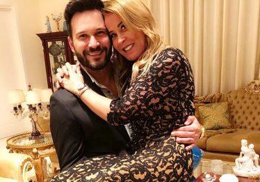 Zilu Camargo e o namorado trocam declarações de amor