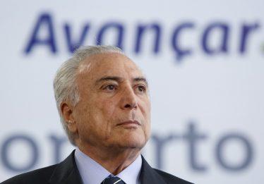 Em jantar com parlamentares, Temer diz que pretende que MDB continue no Planalto em 2019