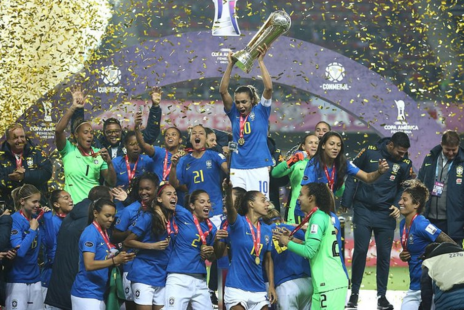 Futebol feminino: Brasil conquista no Chile sua sétima Copa América