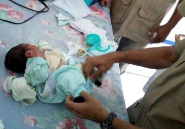 Recém-nascido encontrado em lixo de Aparecida de Goiânia recebe alta
