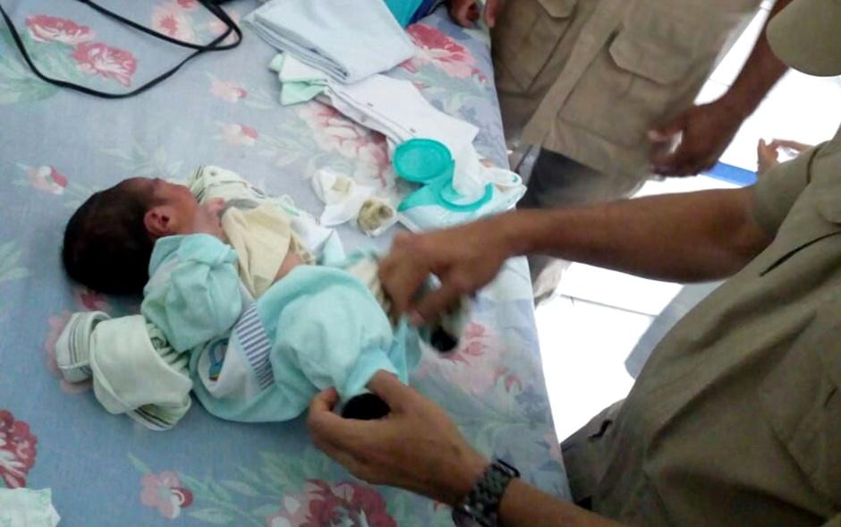 Recém-nascido é encontrado no lixo, em Aparecida de Goiânia