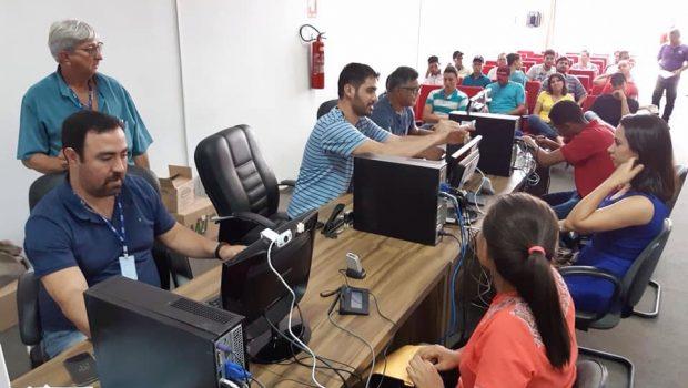 Cerca de 800 Carteiras de Trabalho são emitidas em ação do Ministério do Trabalho, em Goiás