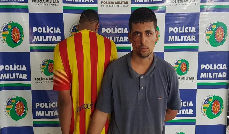 Família é feita refém, mas polícia chega e prende assaltantes, no Novo Mundo