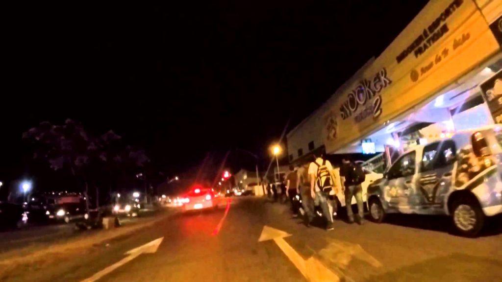 Briga iniciada em clube resulta em perseguição e morte na Avenida Universitária em Anápolis
