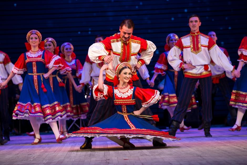 Ballet folclórico da Rússia faz apresentações em Goiânia e Anápolis