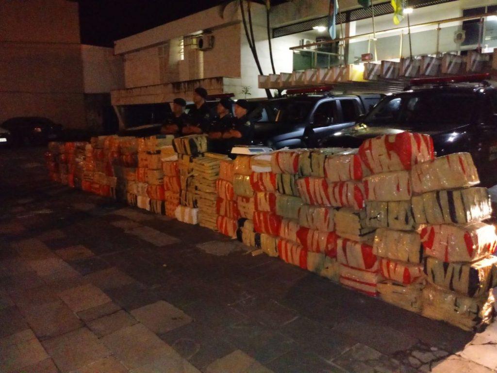 Duas toneladas de maconha são apreendidas na Zona Rural de Pirenópolis