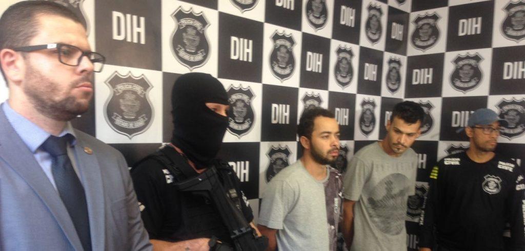 Presos suspeitos de vários crimes na região do Real Conquista