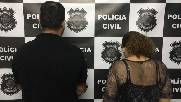 Casal é preso em Caldas Novas supeito de aplicar golpes em noivos em Goiânia